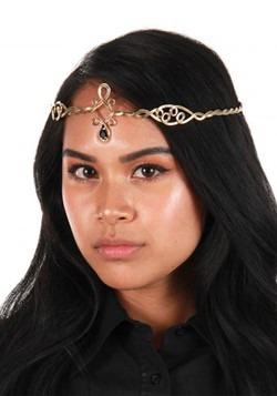 Antique Gold/Black Circlet Adjustable