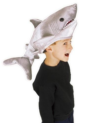 Kids Shark Plush Hat