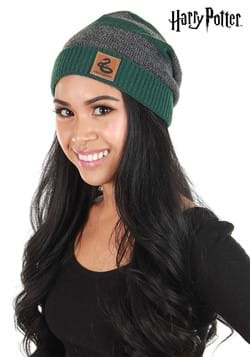 Slytherin Heathered Knit Beanie