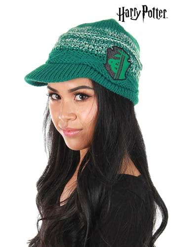 Slytherin Knit Brim Cap