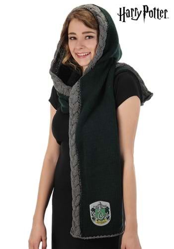 Slytherin Knit Hood