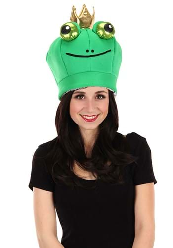 Frog Prince Reversible Plush Hat
