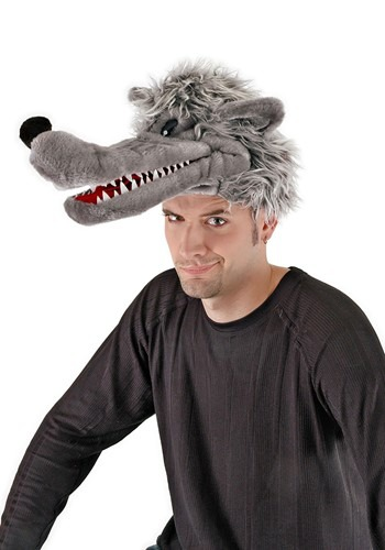 Big Bad Wolf Plush Hat