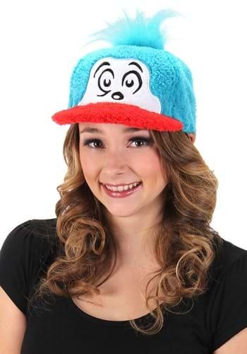 Thing 1 Fuzzy Cap 1