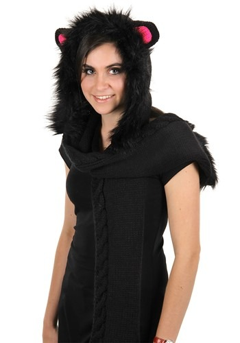Cat Knit Hood
