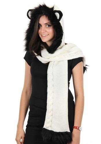 Panda Knit Hood