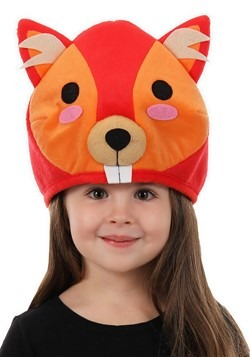 Red Squirrel Quirky Kawaii Hat