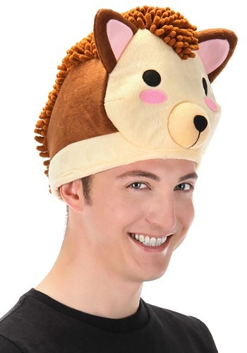 Hedgehog Quirky Kawaii Hat