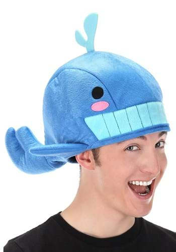 Blue Whale Quirky Kawaii Hat Main Upd 1