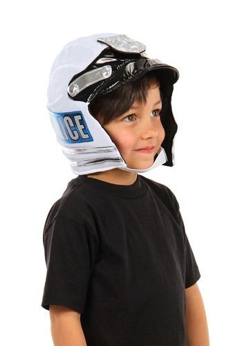 Kids Police Plush Helmet