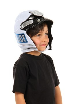 Kids Police Plush Helmet