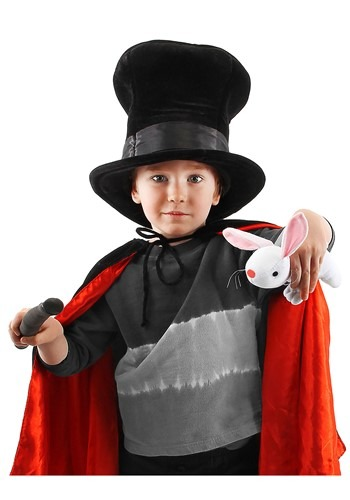 Kids Magician Plush Hat with Rabbit