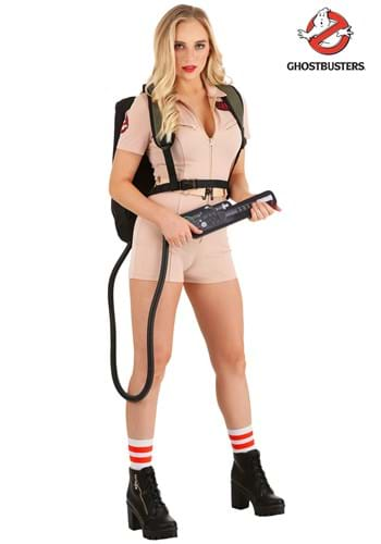 Women's Ghostbusters Daring Ghostbuster Costume main1