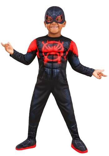 Toddler Deluxe Miles Morales Costume