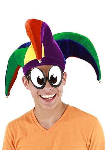 Court Jester Plush Hat Multicolor