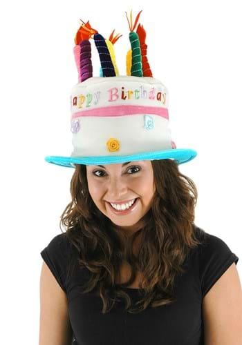 Birthday Cake Plush Hat Update