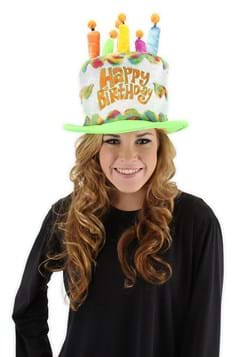 Rainbow Birthday Cake Plush Hat Update