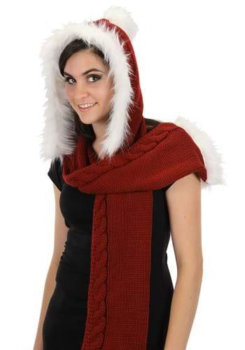 Knitted Santa Hood Main