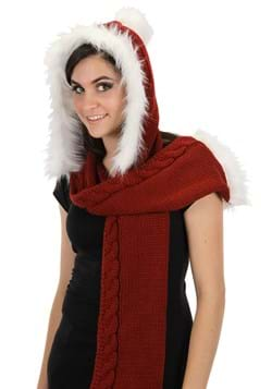 Knitted Santa Hood Main