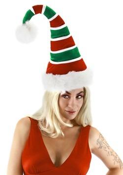 Ridged Santa Plush Hat