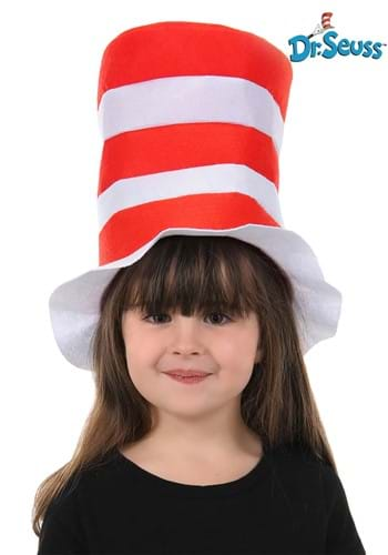 The Cat in the Hat Kids Felt Stovepipe