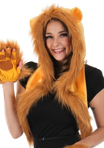 Lion Plush Hood