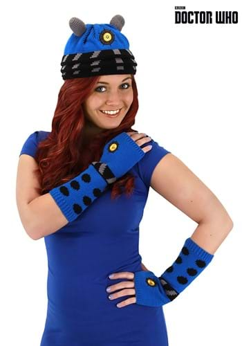 Dalek Knit Beanie Blue