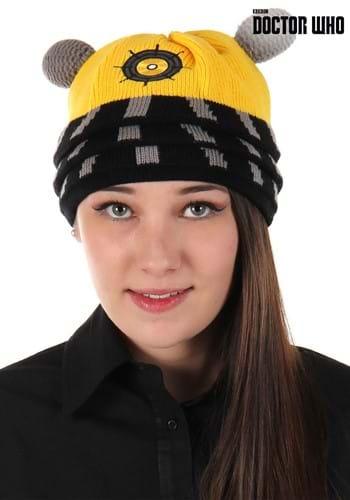 Dalek Knit Beanie Yellow