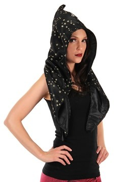 Wizard Alchemy Hood Black