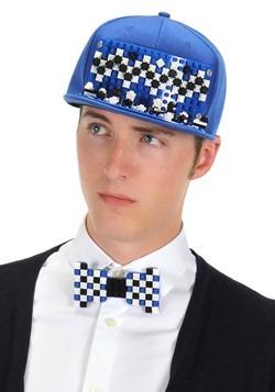 Bricky Blocks Blue Snapback Hat