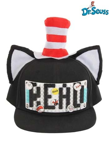 Bricky Blocks Build-On Snapback Hat The Cat in the Hat Kit 1