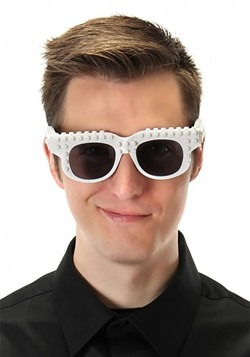 Bricky Blocks Glasses White