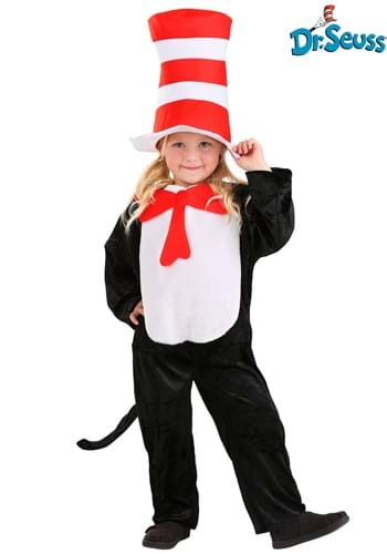 The Cat in the Hat Costume Toddler 2T-4T Update