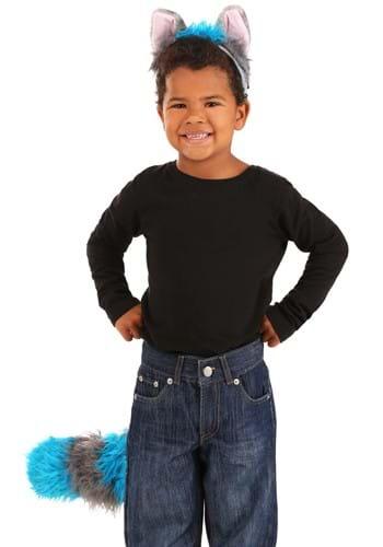 Deluxe Cheshire Cat Ears Headband & Tail Kit