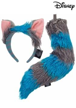 Deluxe Cheshire Cat Ears Headband & Tail Kit