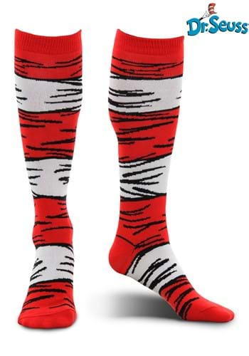 The Cat in the Hat Costume Adult Socks