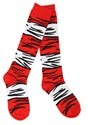 The Cat in the Hat Costume Adult Socks Alt 2