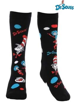 The Cat In The Hat Pattern Socks Kids