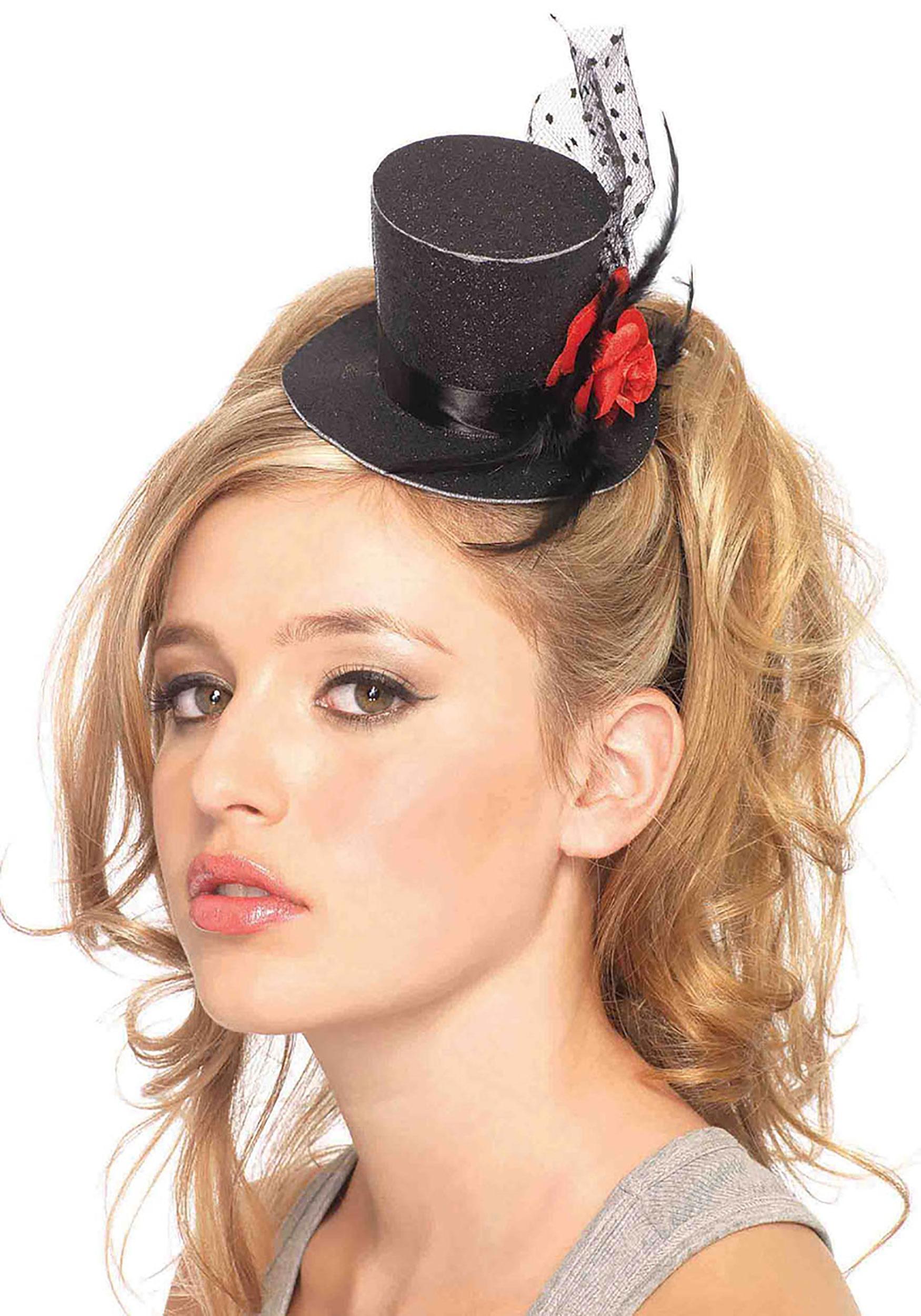 Mini Black Top Hat-1034