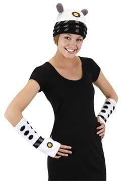Dalek Knit Arm Warmers White