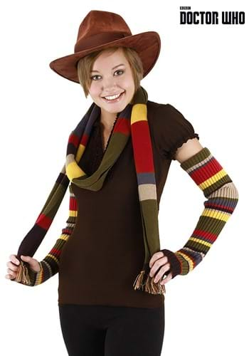 Fourth Doctor Knit Arm Warmers