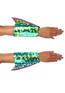Seahorse Shimmer Fin Arm Cuffs