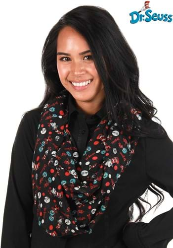 The Cat in The Hat Lightweight Infinity Scarf