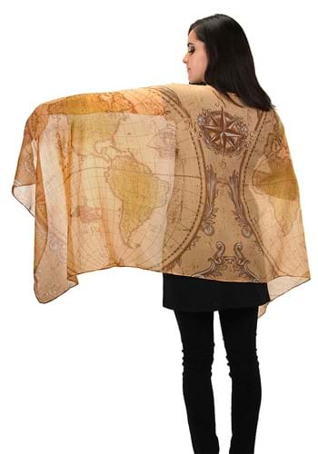 Ye Olde World Map Lightweight Scarf