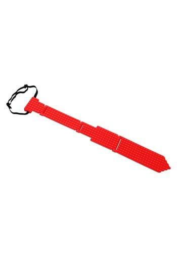 Bricky Blocks Necktie Red