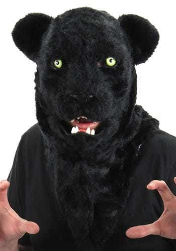 Black Panther Mouth Mover Mask