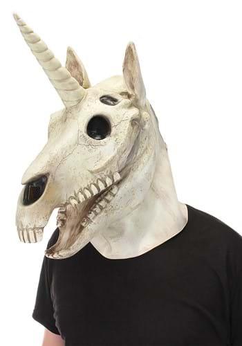 Unicorn Skull Mouth Mover Mask