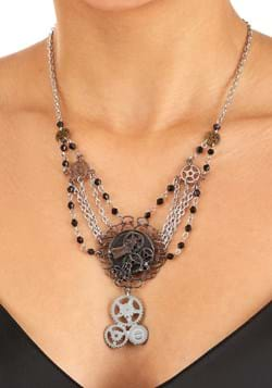 Chain Gear Necklace Antique Main UPD