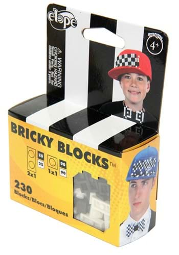 Bricky Blocks Kit Black & White
