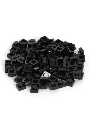Bricky Blocks 100 Pieces 1x1 Black